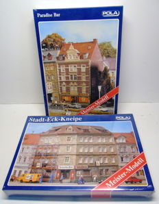 "Pola H0 - 177/191 - Corner house café ""Scharfes Eck"" and townhouse ""Paradise Bar"""