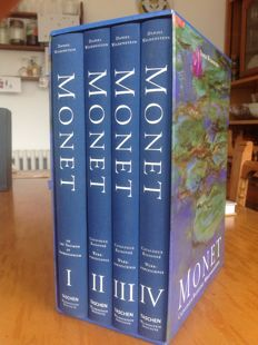 Monet, or the Triumph of Impressionism: Catalogue Raisonne, Volumes I-IV - 1996