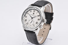 Edward East Men's watch with Steel Case and Leather Strap