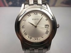 GUCCI 5500M –  Swiss made stainless steel gents dress wrist watch c.2010