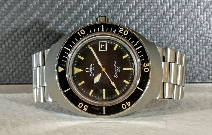 Omega - Omega Seamaster 200 Flightmaster Case - Automatic  - 166.091 - Men - 1970-1979