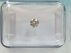 Brilliant cut diamond 0.20 ct J VS2 with IGI certificate