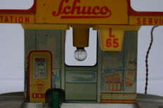 Schuco, Western Germany - Varianto 3055 charging station, 1950s
