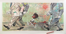 """Fernandez, Tony - Big Format Digital Print - Young Daisy inspired by Norman Rockwell's """"The Problem We All Live With"""""""