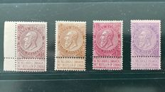 Belgium 1893 - fine beard 35 cent, 50 cent and 1 and 1 F - OBP 64 and 66