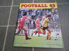 Panini - Football 83 - Belgian league - Complete album