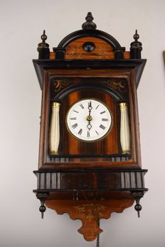 Wooden Schwarzwald clock - 19th century - Germany
