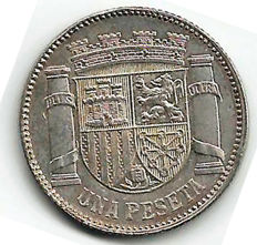 Spain - 2nd Republic - 1 peseta from 1993 * 34 - (one coin)