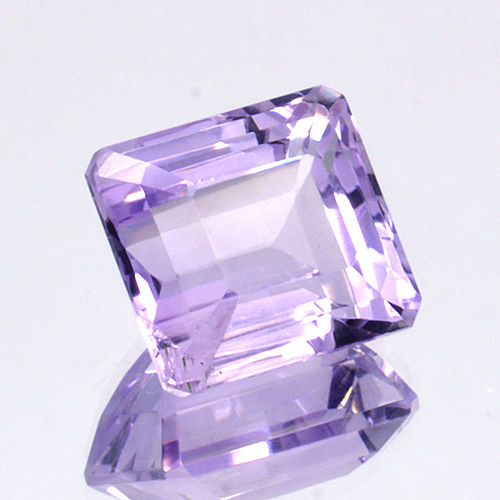 'Rose de France' amethyst - 10.05 ct - No Reserve Price.