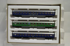 Roco H0 - 44137 - set passenger carriages of the DB.