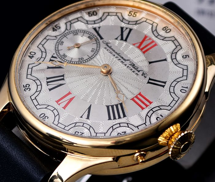 IWC - International Watch Co. Schaffhausen  - Swiss mariage watch - from 1892  - Men