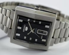 "Seiko 5 DX ""Deluxe"" Automatic Men's Wristwatch - circa 1970s"