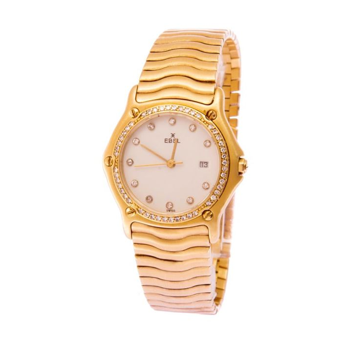 Ebel -  Classic Wave Diamonds Ladies - Femme - 2011-aujourd'hui