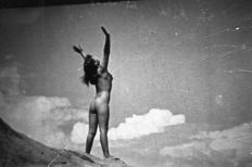 Negatives; Lot with 7 loose negatives depicting asian nudes - 1960s