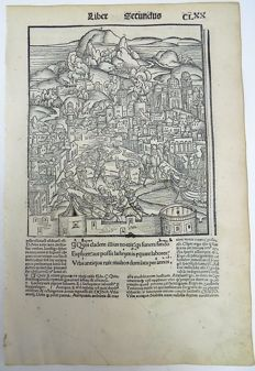 Gruninger Master; Virgil - Brandt Edition - The Battle of Troy, Trojan Horse; Virgil's Aeneid - 1502
