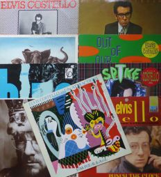 The Genius of Elvis Costello (& The Attractions) in  9 albums from his early carreer
