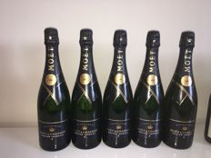 Moët Chandon Nectar - 5 bottles (0,75ltr)
