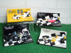 Minichamps - Scale 1/43 - Lot with 4 x Opel Racing cars