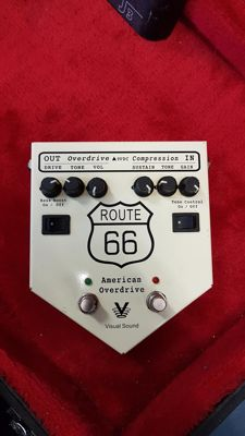 Visual Sound Route 66 V1 Creation Audio Labs Mod Overdrive Compressor WORLDWIDE