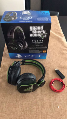 Grand Theft Auto Headphone Pulse For Ps3 / Ps4