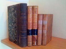 Lot of 5 books on Christianity - 1819/1876