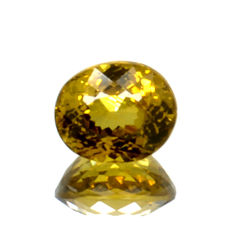 Green-yellow Mali garnet - 1.28 ct