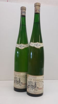 2 x 1983 Clos Himmelreich, Riesling,  Elzas, Magnum (perfect clear wine)                    Domaine Lucien Albrecht