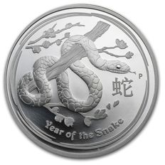 Australia - Dollar 2013 'Year of the Snake - Lunar II' - silver