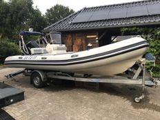 Valiant RIB V620 + 150 pk Mercury + trailer - 2007