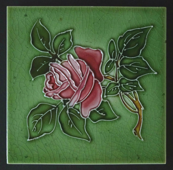 Thomas & Richard Boote - Art Nouveau Tile