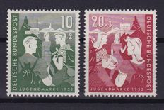 Federal Republic of Germany + Berlin - Composition on stock cards