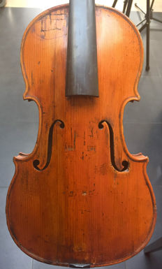 Authentic French Breton Brevete violin! 1819