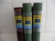 Theme EUROPE 1956/1985 - Advanced collection in three albums.