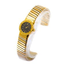 Bulgari Turbogas 35 gold / white gold - womens watch - 2000 peroid