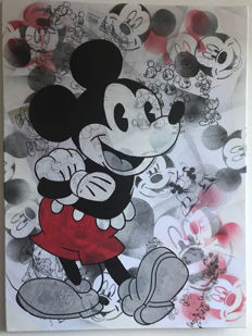 Jeannette Amsterdam - Mickey Mouse collage #6