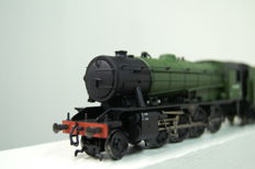 Bachmann 00 - 32-250 - steam locomotive with tender serie 4300 of the NS.