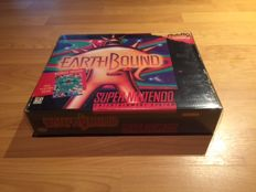 "Snes Big Box ""Earthbound"" Fully Complete, 100% Original and Very Rare"