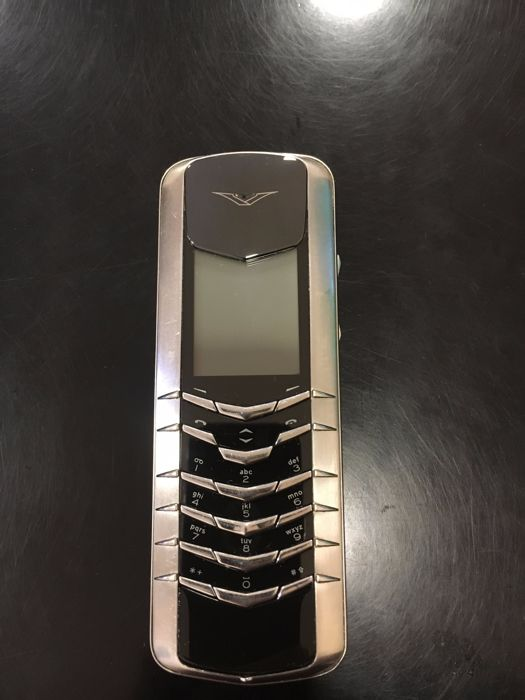 Vertu Signature M Design Black Cermamic