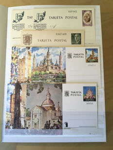 Spain 1960–1998 - Complete collection of postal stationery and aerograms
