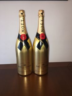 Moet & Chandon Brut Imperial Gold Edition - 2 Double Magnums (300cl)