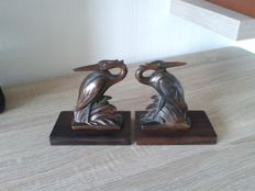 Bookends - Heron