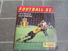 Panini - Football 82 - Belgian league - Complete album
