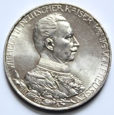 Prussia – 3 Mark 1913 A Government anniversary
