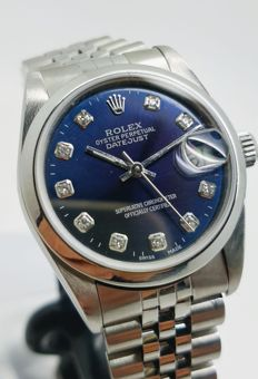 Rolex - Datejust With Diamonds - Ref. 78240 - 2000-2010
