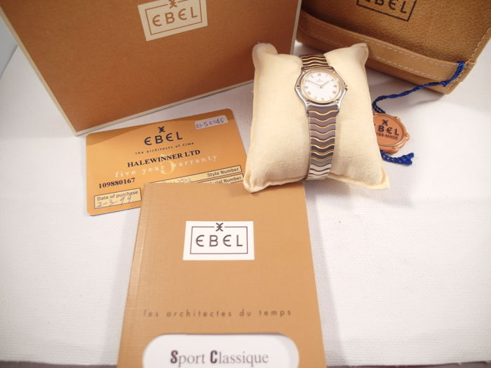 Ebel - Ebel Classic Sport Classique BOX + PAPERS - 1157111  - Dames - 1990-1999