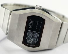 Camy Digital Jump Hour Automatic Men's Vintage Wristwatch - circa 1970s