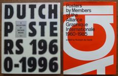 Lot with 2 volumes about posters from 1960 to 1996 - 1985 / 1997