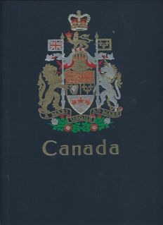 Canada 1851/2000 - Collection and 2 Davo albums