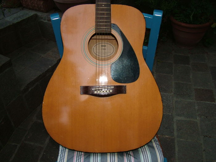 Yamaha F 310 Acoustic Guitar It Needs Some Aesthetic Intervention