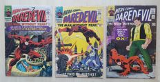 Vintage Marvel Comics - Daredevil Vol 1 - Issues #13, #14 And #15 - X3 SC - (1966)